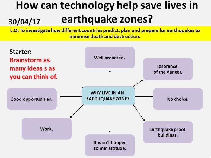 NEW OCR GCSE - Natural hazards: Plan, predict, prepare