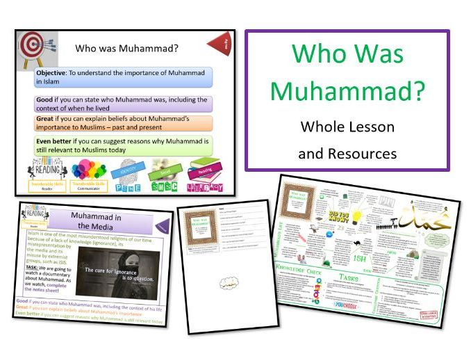 Who Was Muhammad? - Whole Lesson for KS3