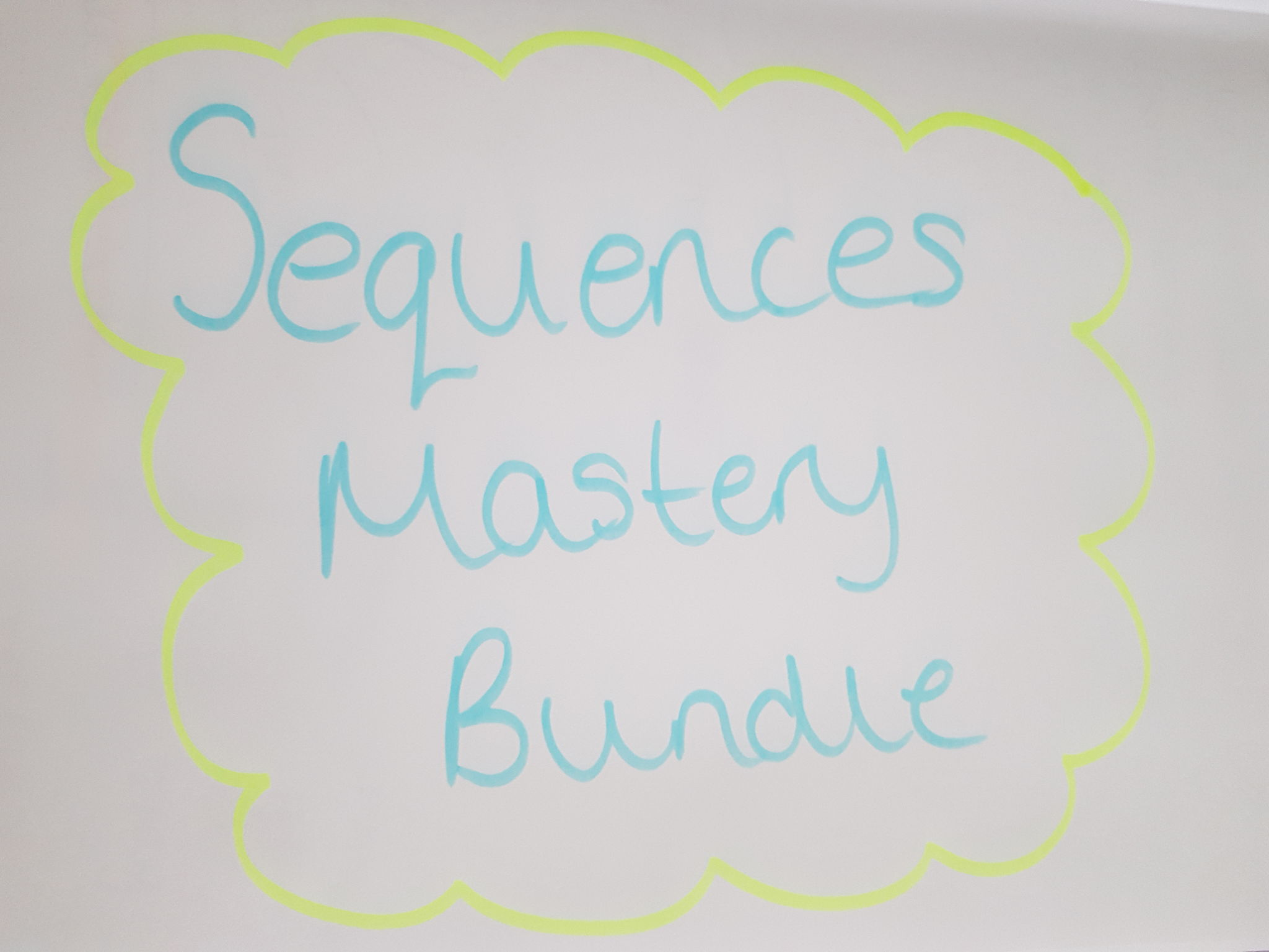 Sequences Mastery Bundle