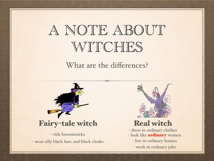 The Witches, Roald Dahl - enough content to fill a term of lessons!
