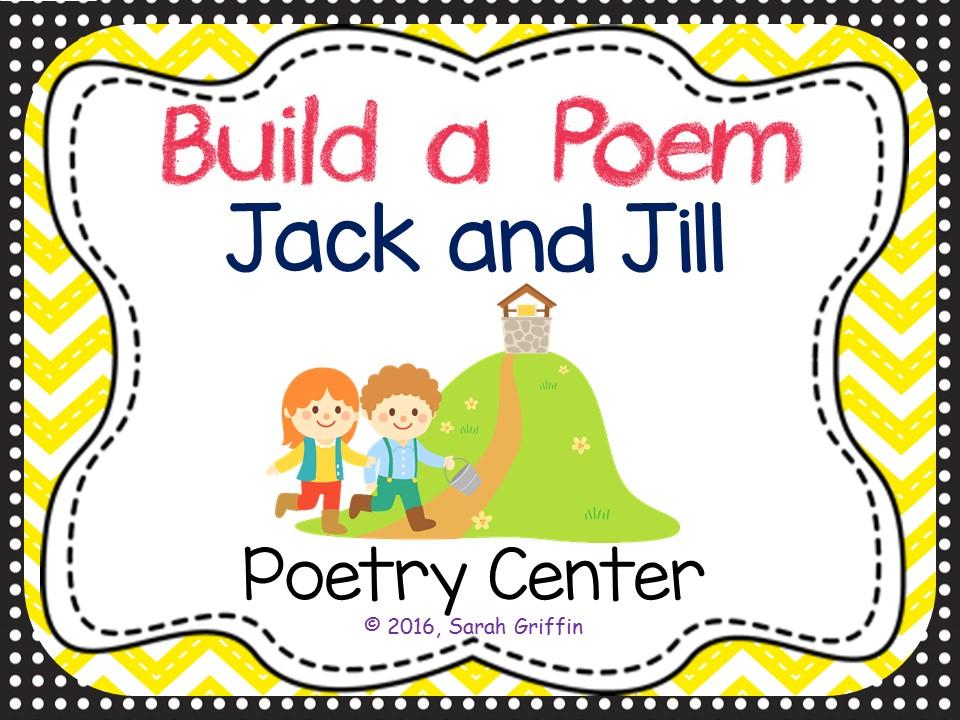 Build a Poem: Jack and Jill - Pocket Chart Center