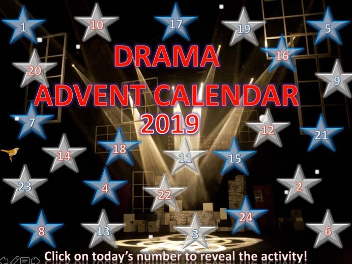 Drama Christmas Quiz Advent Calendar 2019