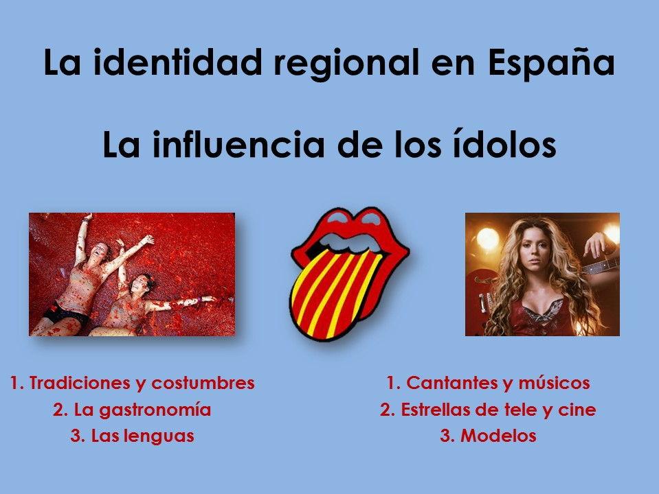 AQA New AS/A Level Spanish La identidad regional and La influencia de los ídolos