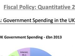 AQA Econ: Fiscal Quantitative Questions