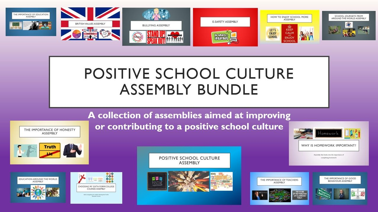 Start of Term Assembly Bundle