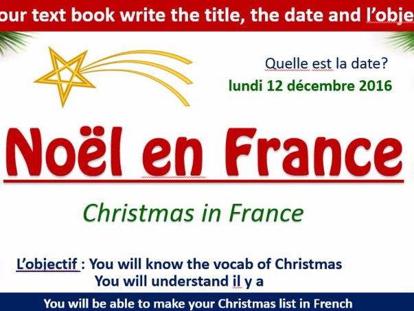 Noel en France - Christmas in France Paris/Nice/Strasbourg