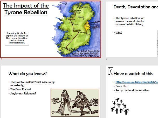Tudor Rebellions Tyrone Rebellion Impact