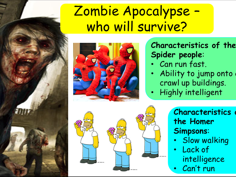 AQA B1 Natural Selection: Finches and Zombies