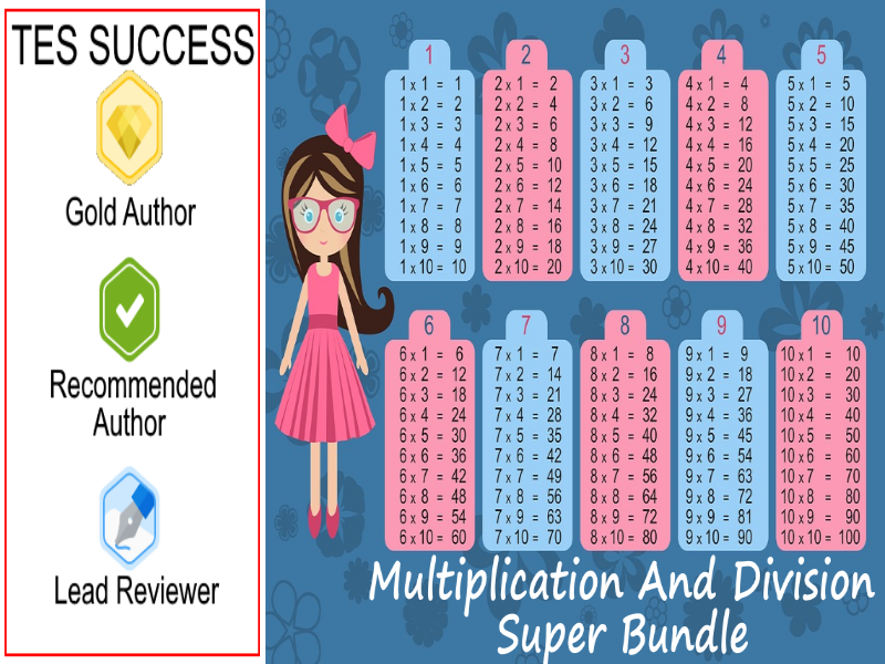 Primary School Multiplication and Division Bundle