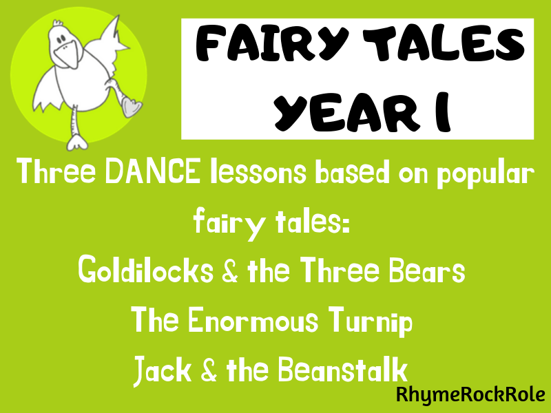 Fairy Tales - 3 dance lessons, Y1