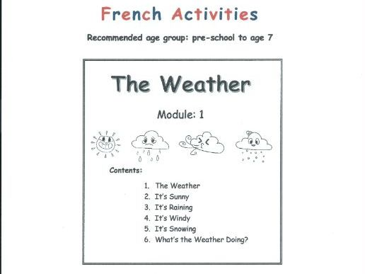 Weather - FRENCH (Module 1)