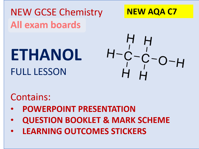 Ethanol NEW GCSE Chem lesson full