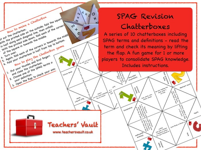 SPAG Revision Chatterboxes