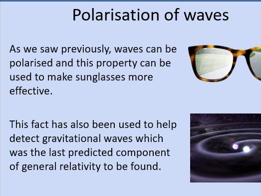 OCR Physics A: Polarisation