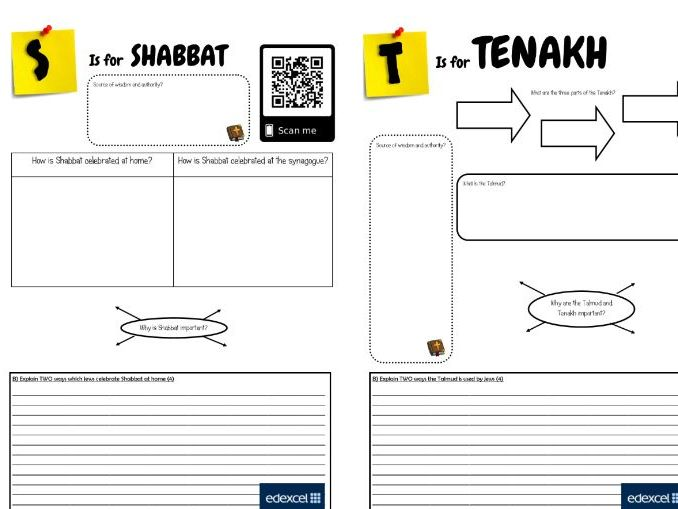 GCSE Religious Studies: Judaism Revision booklet