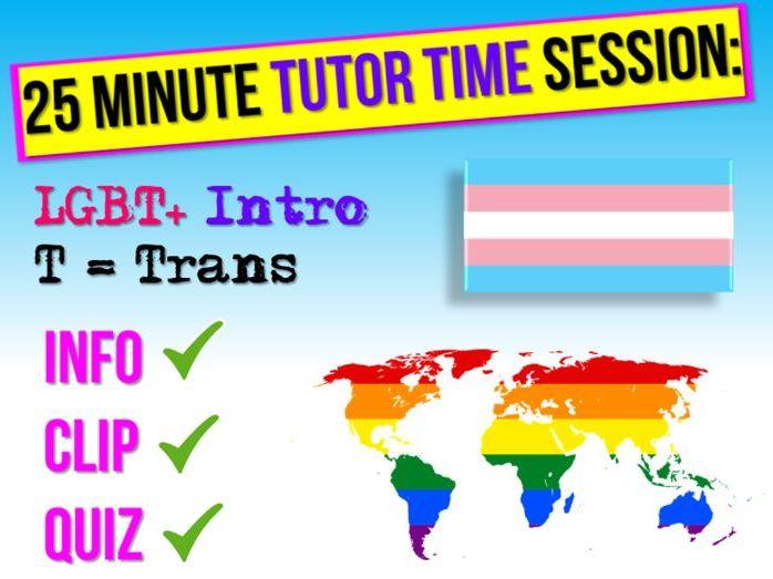 LGBT+ Month Transgender