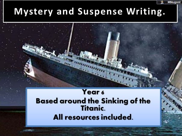 Suspense Writing - Linked to the Titanic