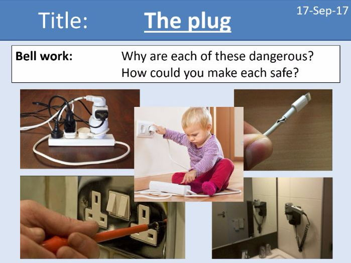 AQA New GCSE Electricity - Lesson 14 - The plug and electrical safety in the home
