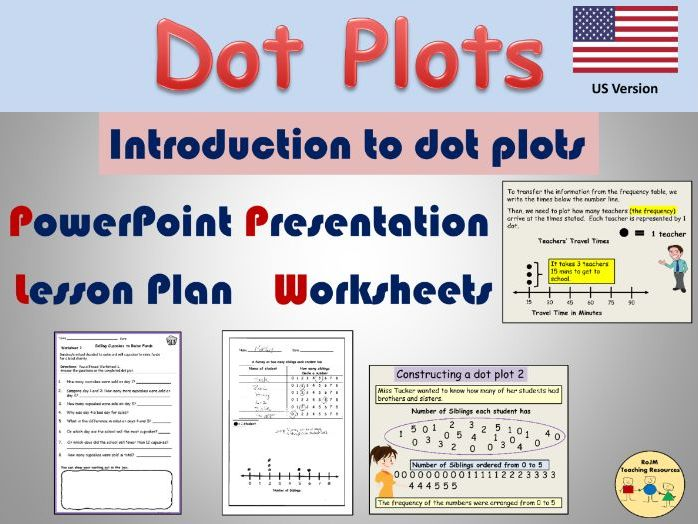 Dot Plots Line Plots Worksheets Presentation Frequency Tables