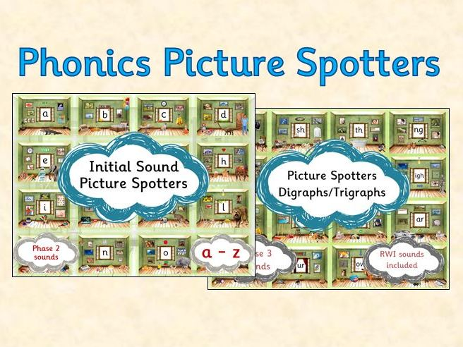 Phonics Picture Spotters bundle
