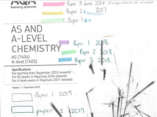 AQA A level chemistry paper 3 predictions for 2019