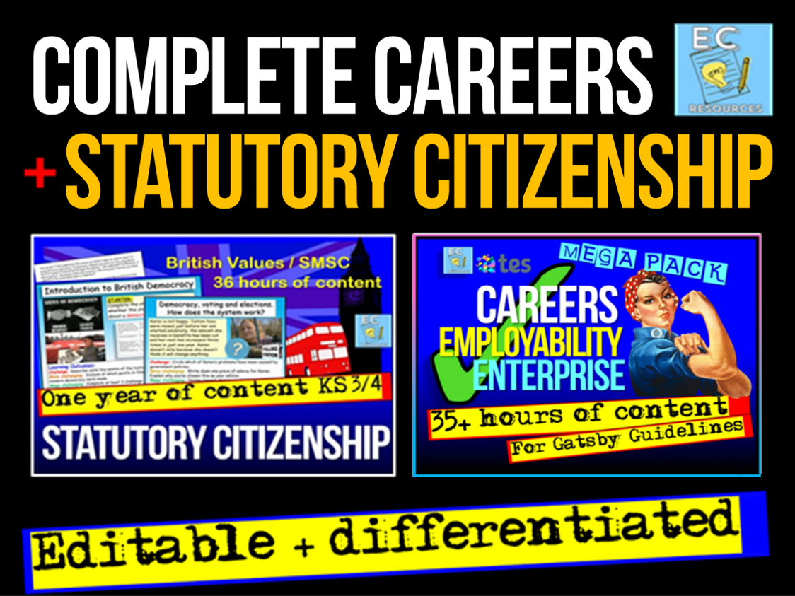 Complete Careers + Citizenship KS3 KS4