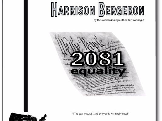 """Harrison Bergeron"" COMPLETE UNIT EDITABLE Activities, Tests, AP Style"