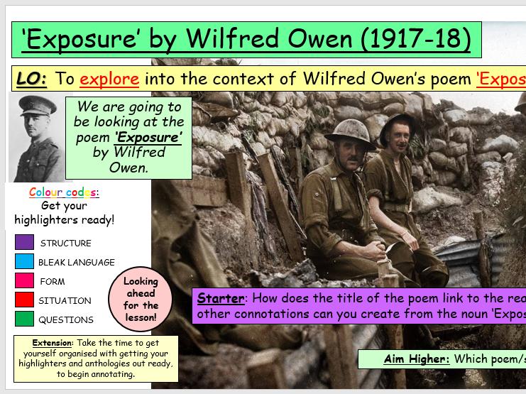 Exposure by Wilfred Owen