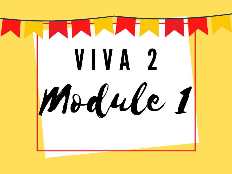 Viva 2: Module 1 Knowledge Organiser