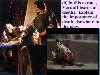 Edexcel GCSE English Literature 9-1: Macbeth Practice Question using Act 4, scene iii