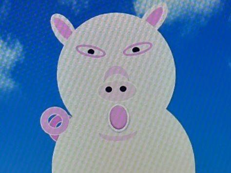Pamela Pig has Lost her Oink
