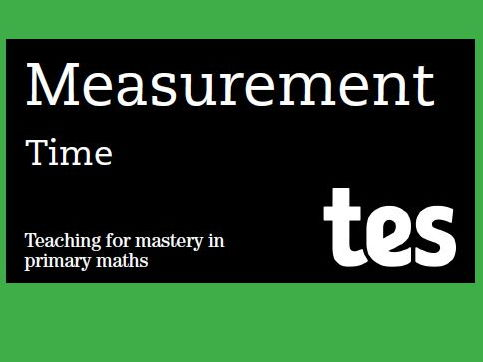 Time: Teaching for mastery booklet