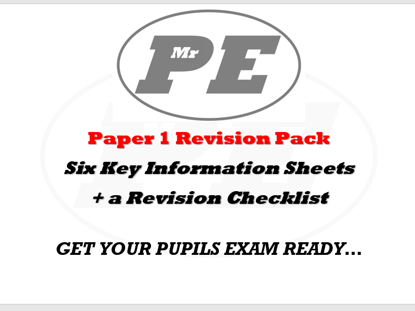 REVISION PACK Paper 1