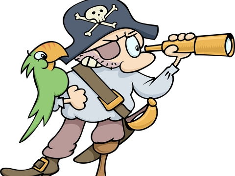 Long John Silver's Gone to Sea: A Pirate Song