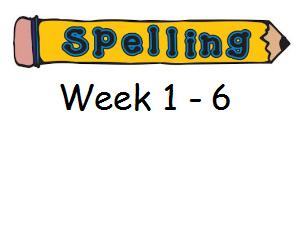 Year 3 Spelling Planning and Homework Resources - Week 1 - 6