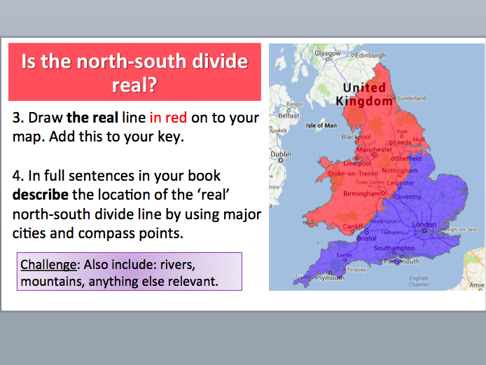 Is the north-south divide in the UK real? AQA GCSE Geography - Changing UK Economy
