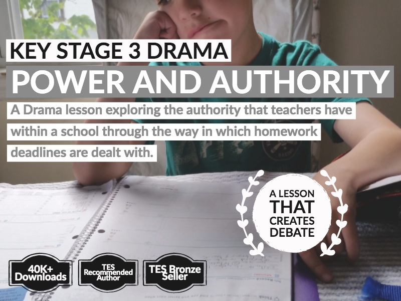 Key Stage 3 Drama: Exploring Power and Authority