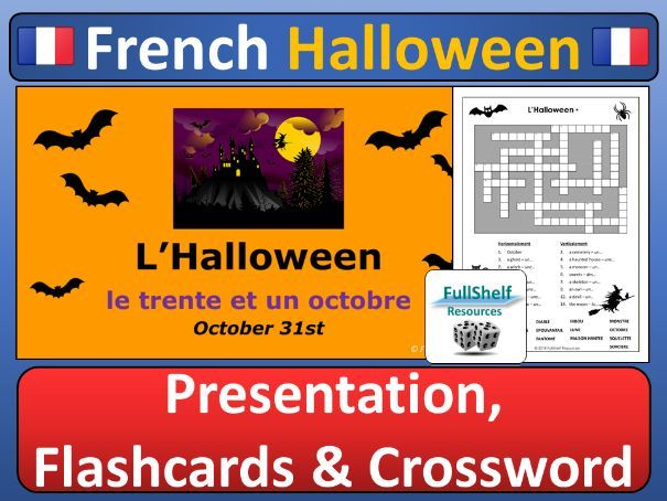 French Halloween Lesson