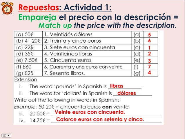 KS3 Spanish - ¿Qué van a tomar? / What are you going to have?