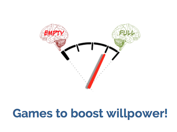 iWill Game Kit! Games to strengthen self-control