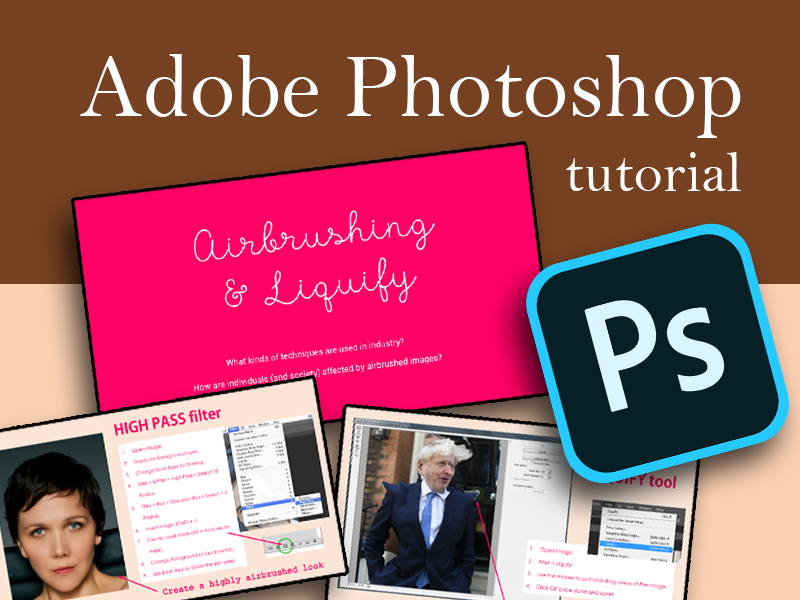 Photoshop: Airbrushing and Liquify