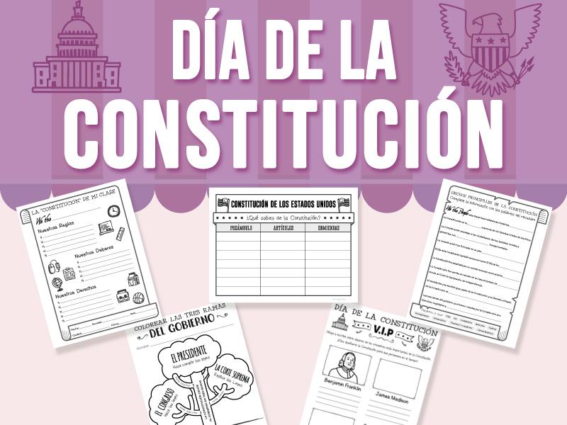 Día de la Constitución - (SPANISH VERSION)