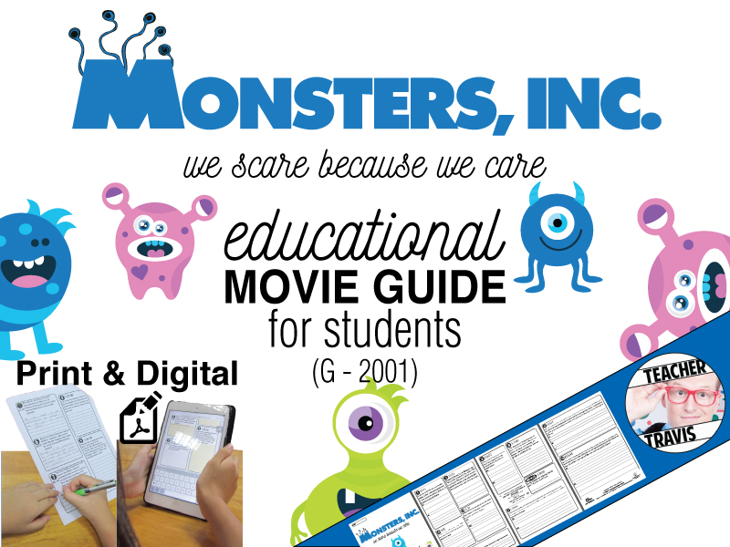 Monsters, Inc. Movie Guide (G - 2001)