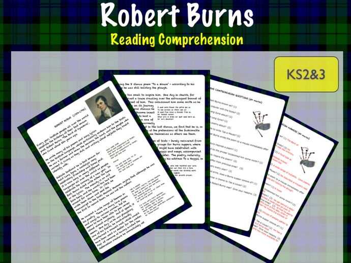 Reading Comprehension: Robert Burns (revised).