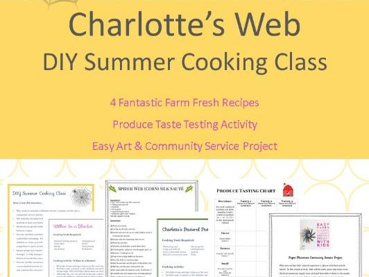 Charlotte's Web: cookery and extension activities inspired by the book (US version)
