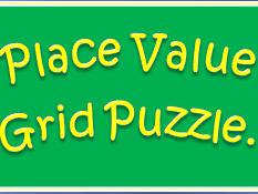 Place Value Grid Puzzle