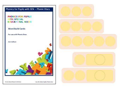 Word Build Cards for use with Phonic Discs - Phonics for SEN