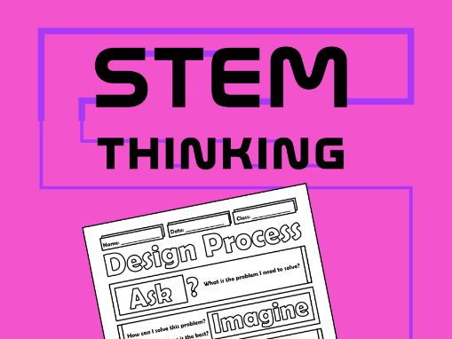 The Design Process Doodle Notes, STEM, Engineering