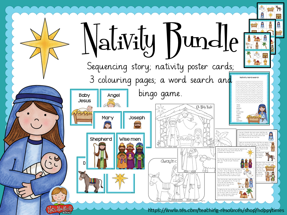 CHRISTMAS NATIVITY BUNDLE by hoppytimes
