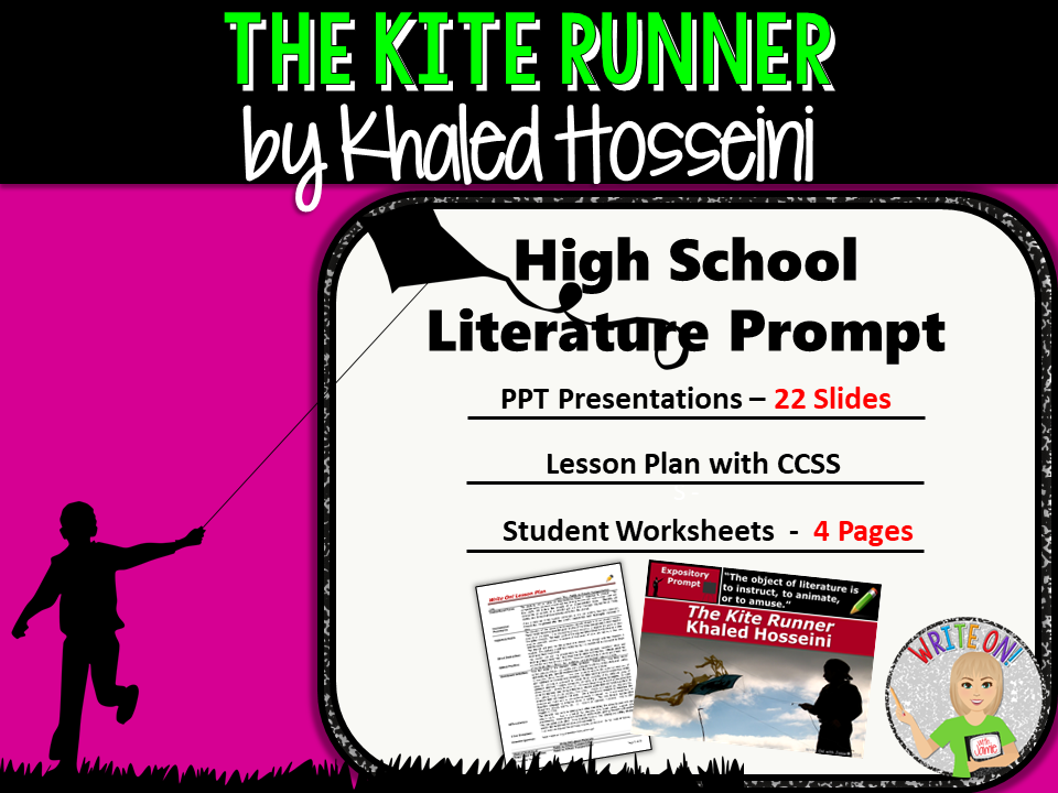 The Kite Runner by Khaled Hosseini - Textual Evidence Analysis Expository Writing